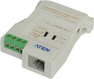 Convertisseur RS232 vers RS422/485 non alimenté, consommation 10mA max. 9V ATEN