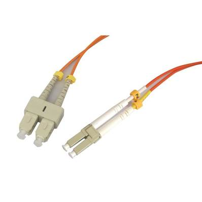 Fibre optique multimode OM1 62.5/125 duplex SC/LC 3.00m