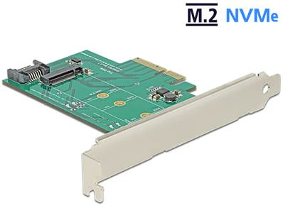 Carte PCI Express > 1 x M.2 NVMe interne