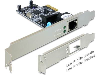 Carte PCI Express > 1 x Gigabit LAN