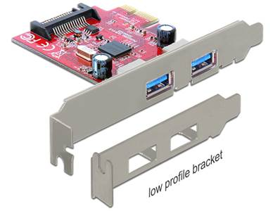 Carte PCI Express > 2 x externes USB 3.0