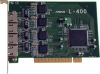 Carte réseau PCI 32 bits/5V- 4 ports 10/100 chipset INTEL