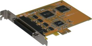 Carte PCI EXPRESS 8 ports série RS-232 16C550 sorties DB9 SUNIX