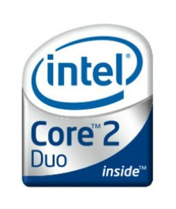 Processeur INTEL CORE 2 DUO  T5500 1,66 G 667 / 2M
