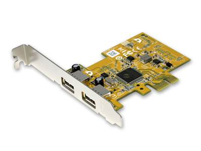 Carte PCIe USB2.0, 2 ports type A